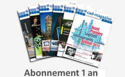 Un an d'abonnement à Cad-magazine (revue papier)