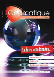Geomatique 113 papier