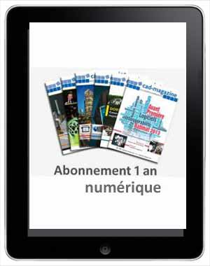 Un an d'abonnement à Cad-magazine (numérique)